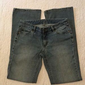Michael Kors Boot 👢 Cut Jeans SZ 6